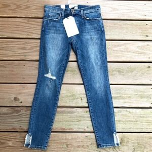 CURRENT/ELLIOTT Stiletto Divina SS Destroy Jeans